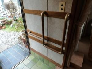 玄関框手摺