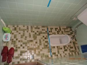 和式トイレから洋式トイレに変更