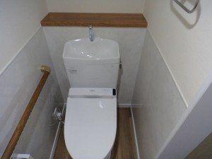 介護用トイレ新設
