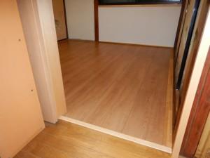 床材の変更工事