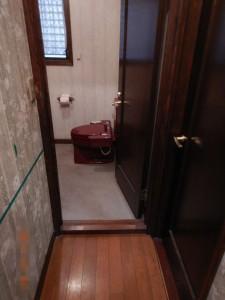 トイレ入口段差解消