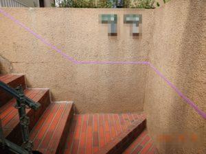 玄関アプローチ階段